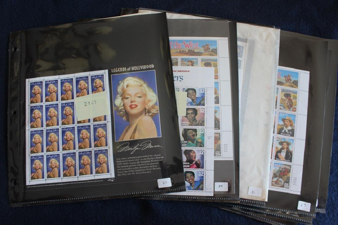 United States Mint Sheets plus more Face $320+