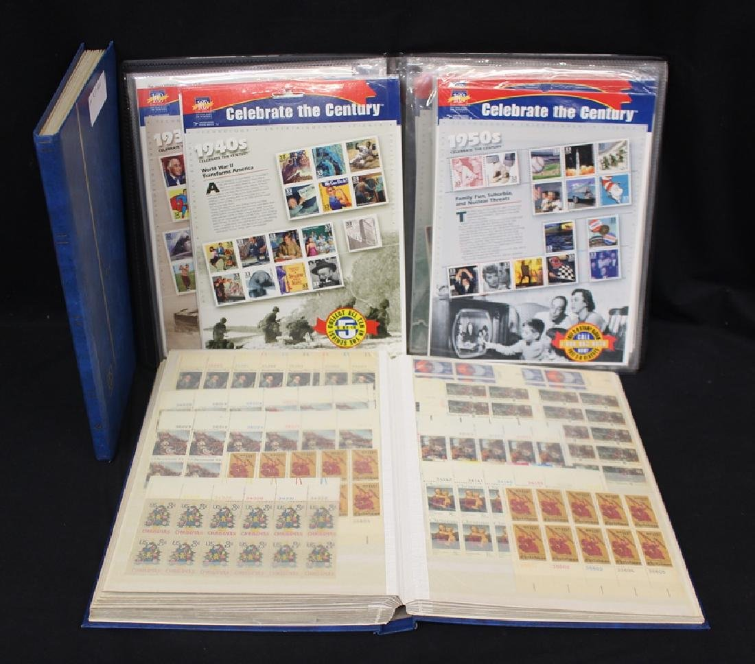 United States Sheets, Booklets, Plate Blocks and Scrap