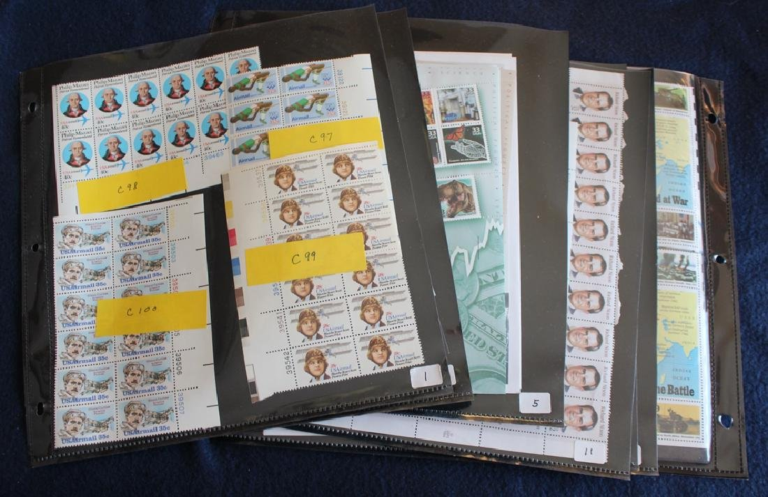 United States Mint Sheets plus more Face $310+