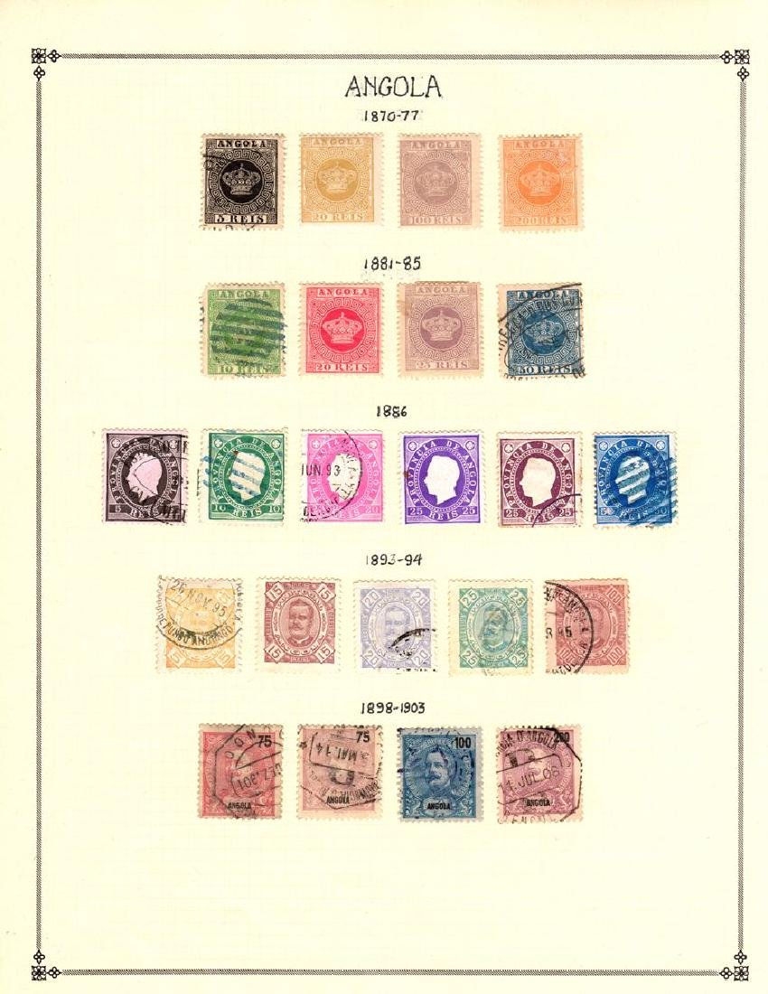 Angola Unused Used Stamp Collection to 1938