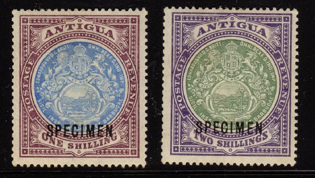 Antiqua Gibbons 37S & 38S Specimen Overprint Issues