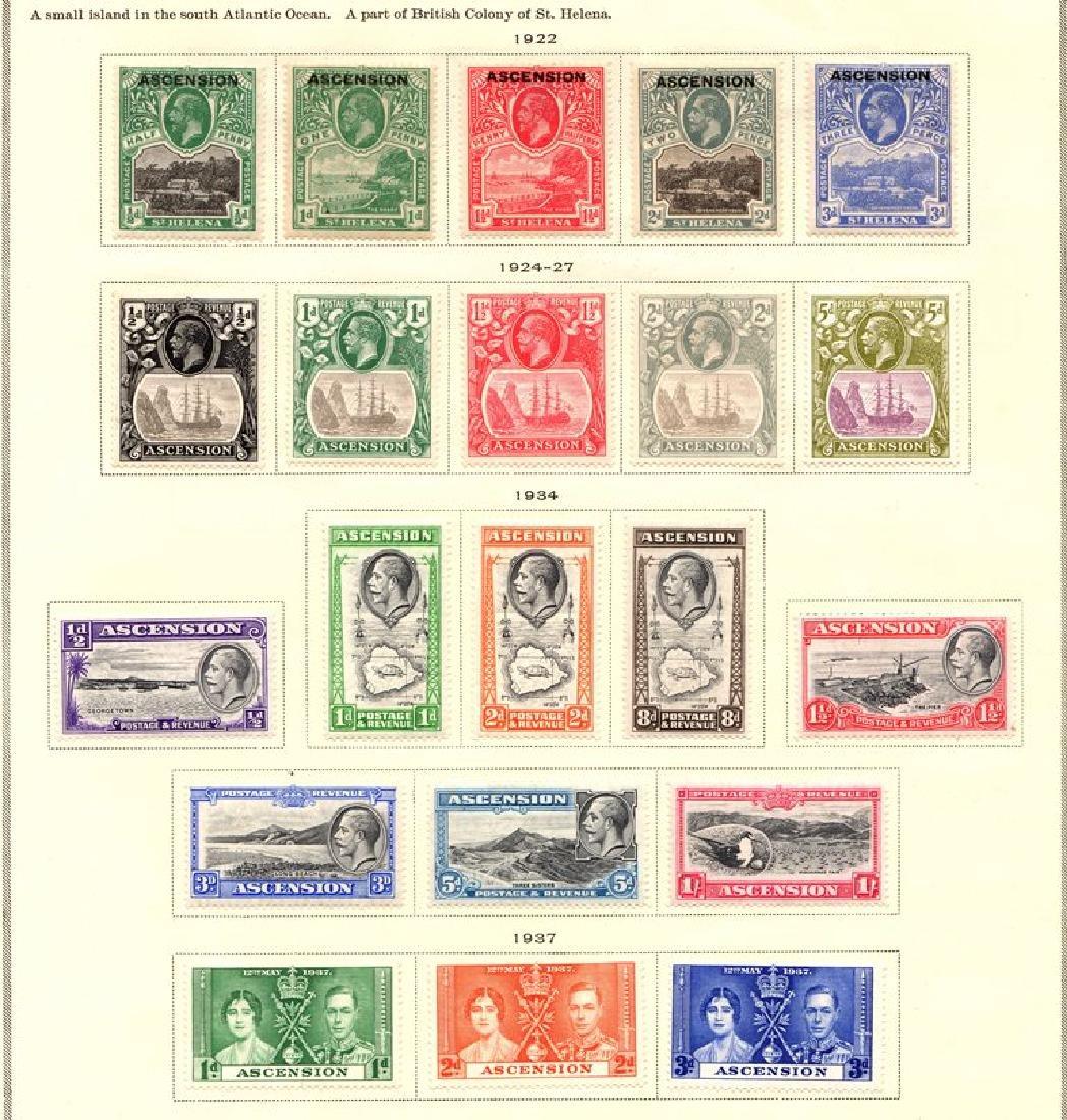 Ascension Islands Unused Stamp Collection SCV.$240+