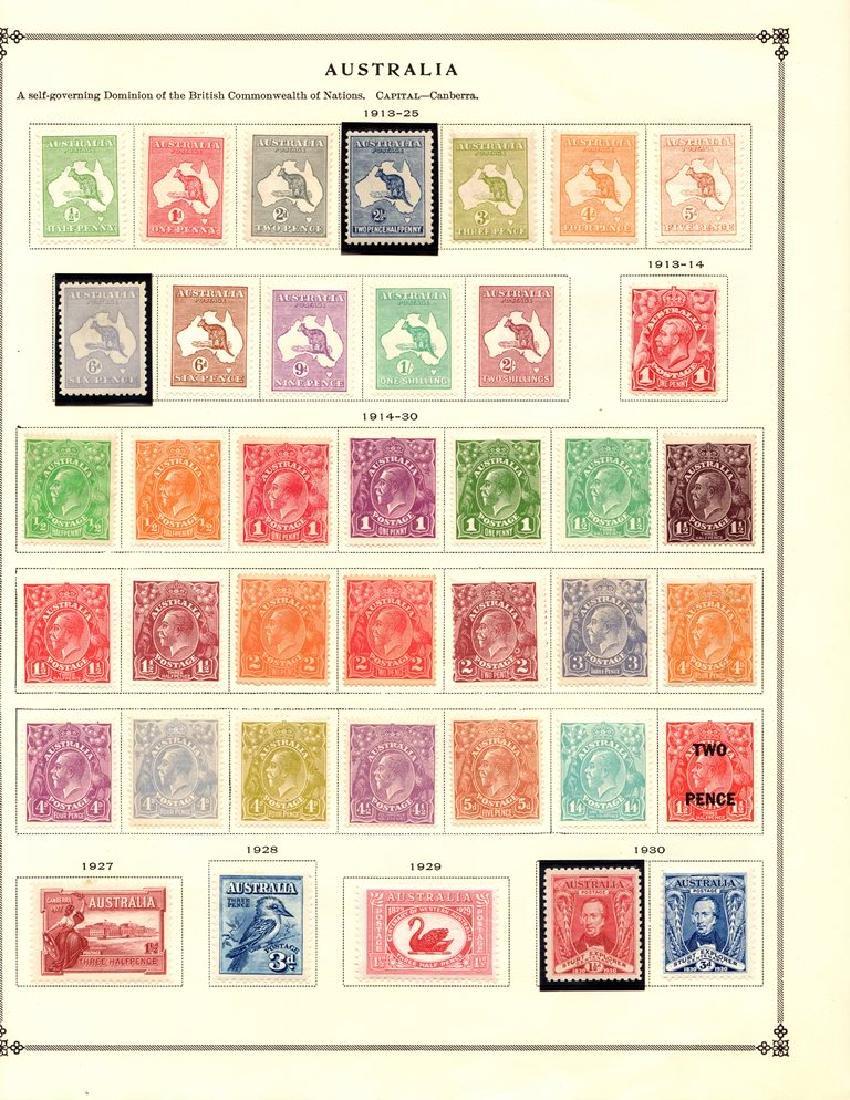 Australia - Unused Used Stamp Collection to 1938