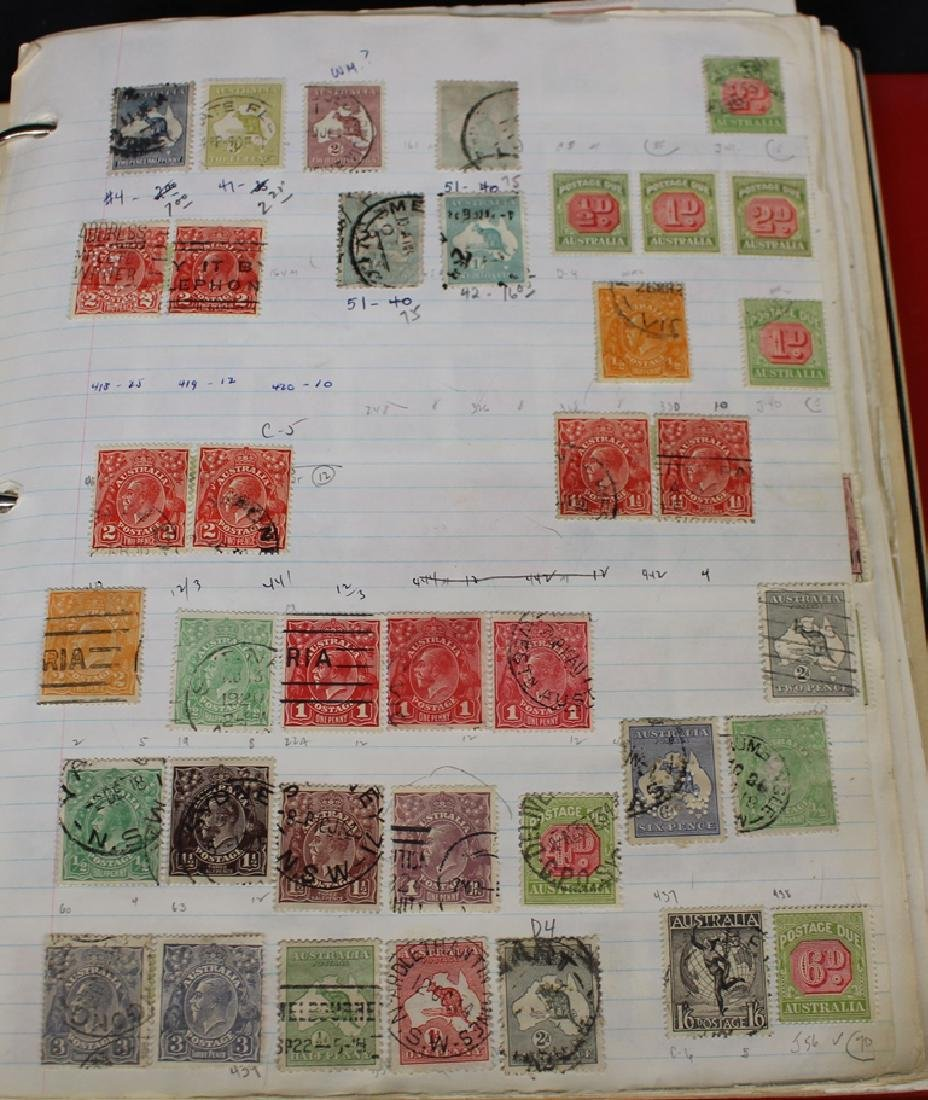 Australia Unused Used Stamp Collection