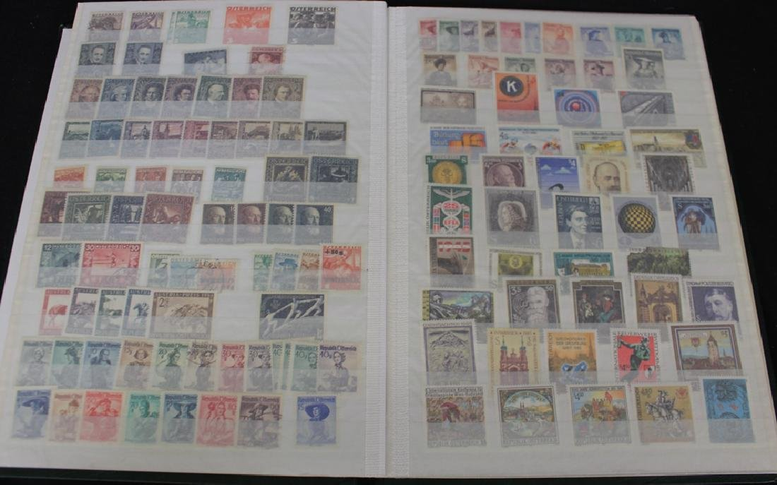 Austria Unused Used in a Stockbook1920-1990