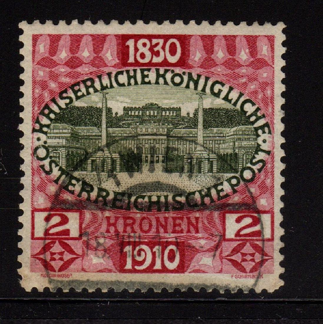 Austria Scott 142 VF Used Birthday Jubilee SCV.$225