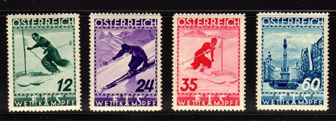 Austria Scott B138-B141 XF OG NH Ski Concourse set