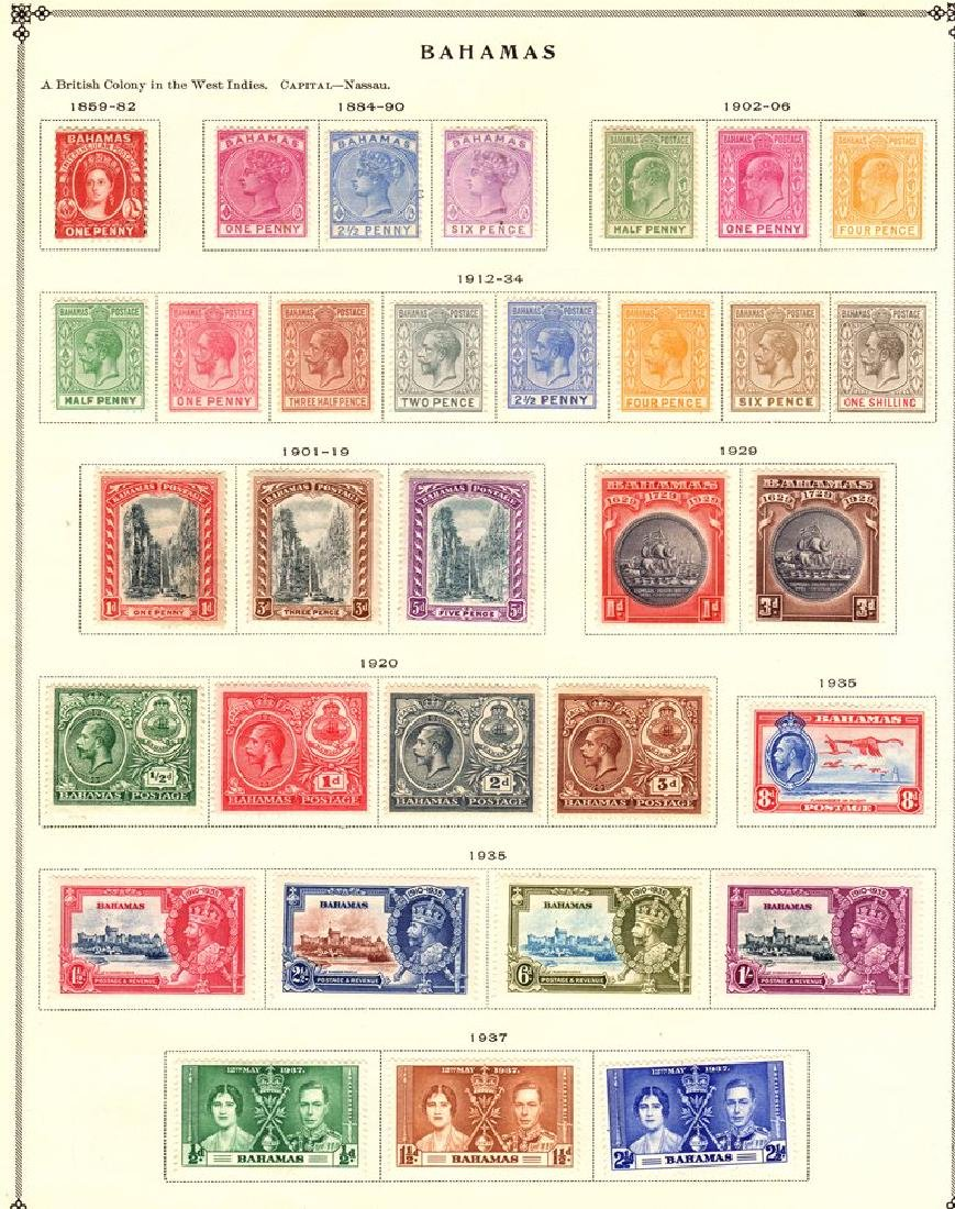 Bahamas Unused Stamp Collection to 1938 SCV.$500+