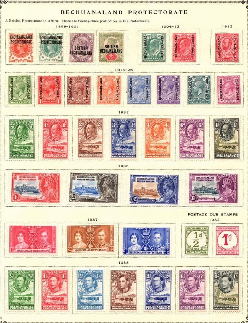 Bechuanaland - (38)Unused Stamp Selection SCV.$206
