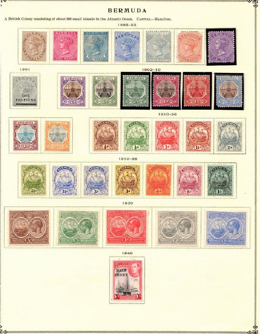 Bermuda - Unused Stamp Selection of Pages SCV.$427