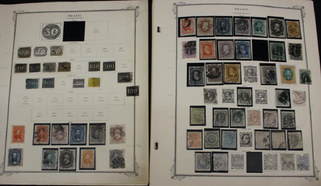 Brazil Unused Used Stamp Collection to 1965