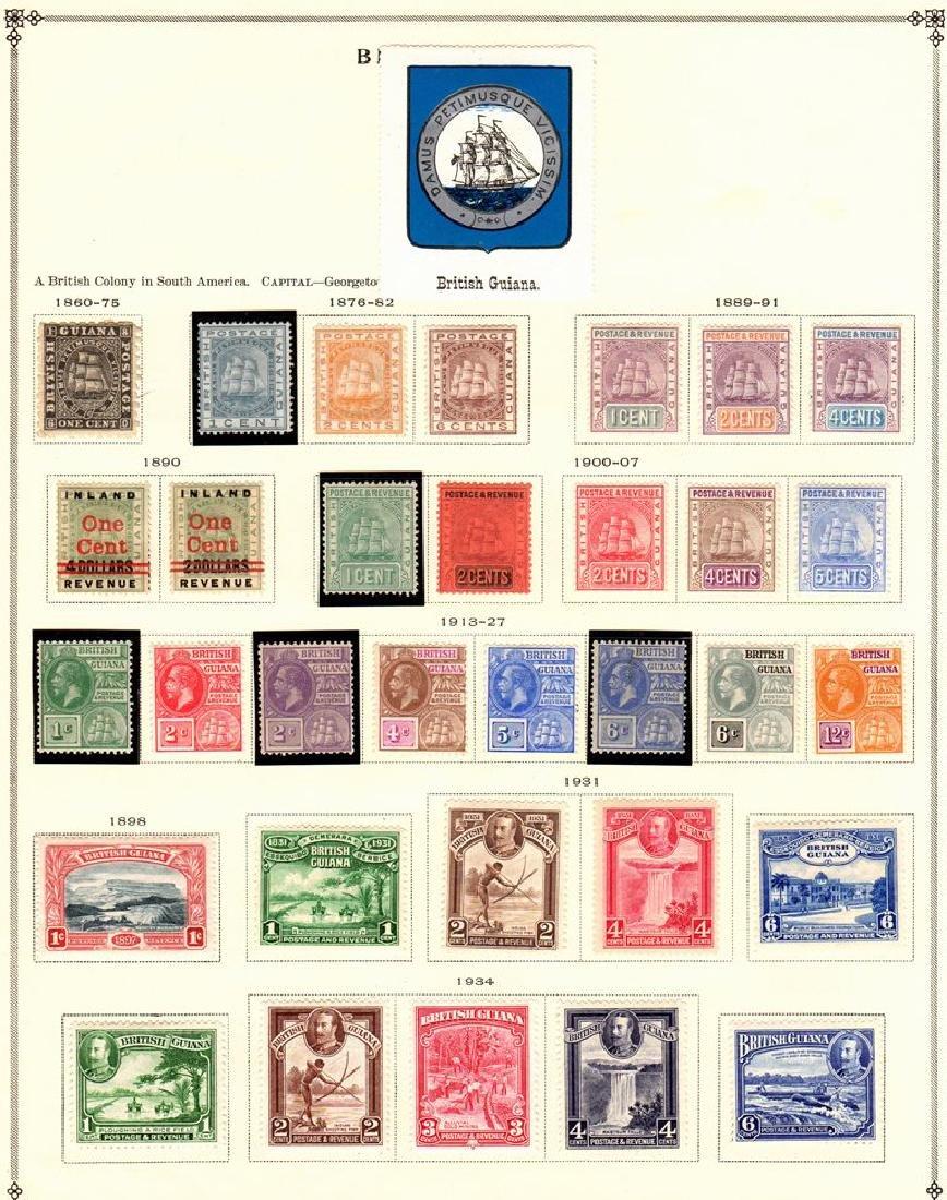 British Guiana Unused Used Stamp Collection SCV.$600+