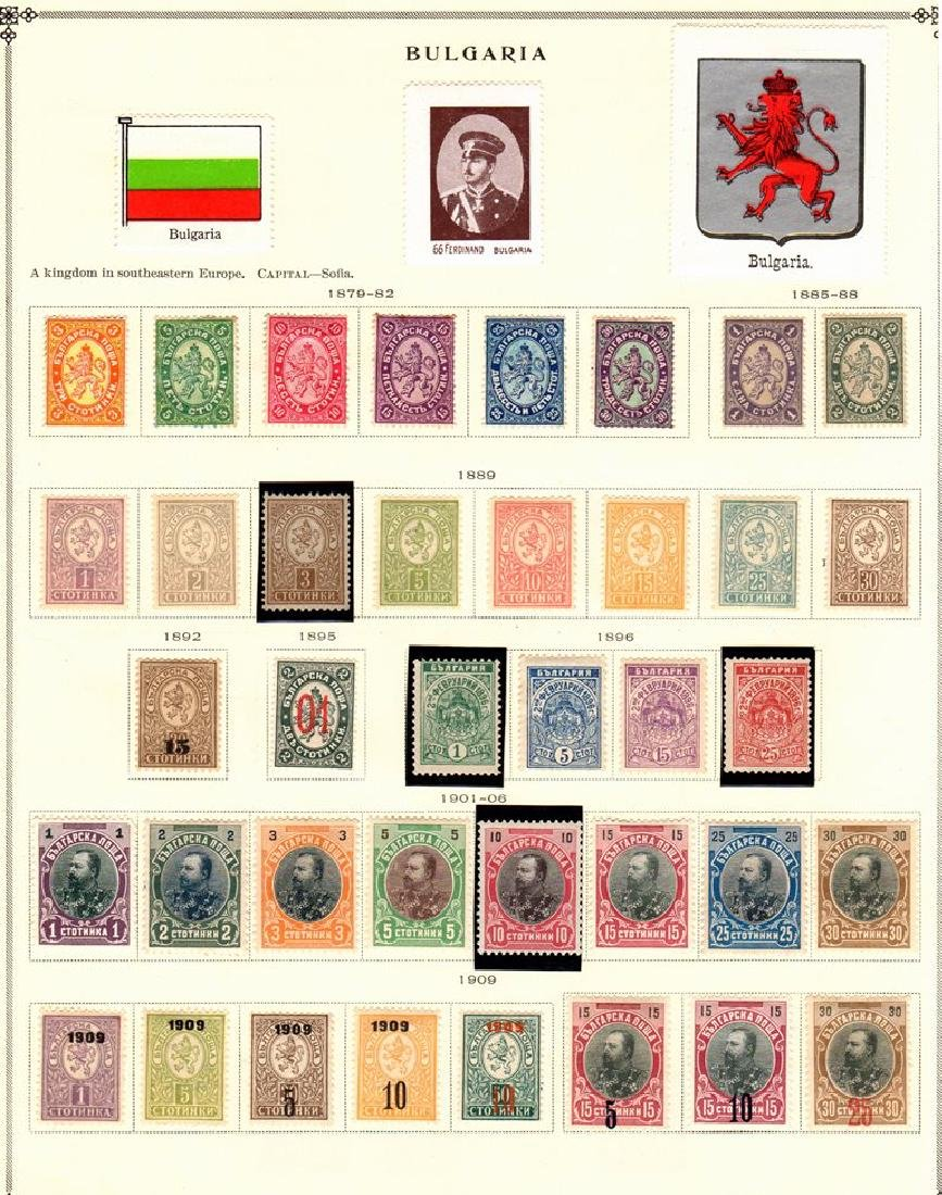 Bulgaria Unused Used Stamp Collection to 1940