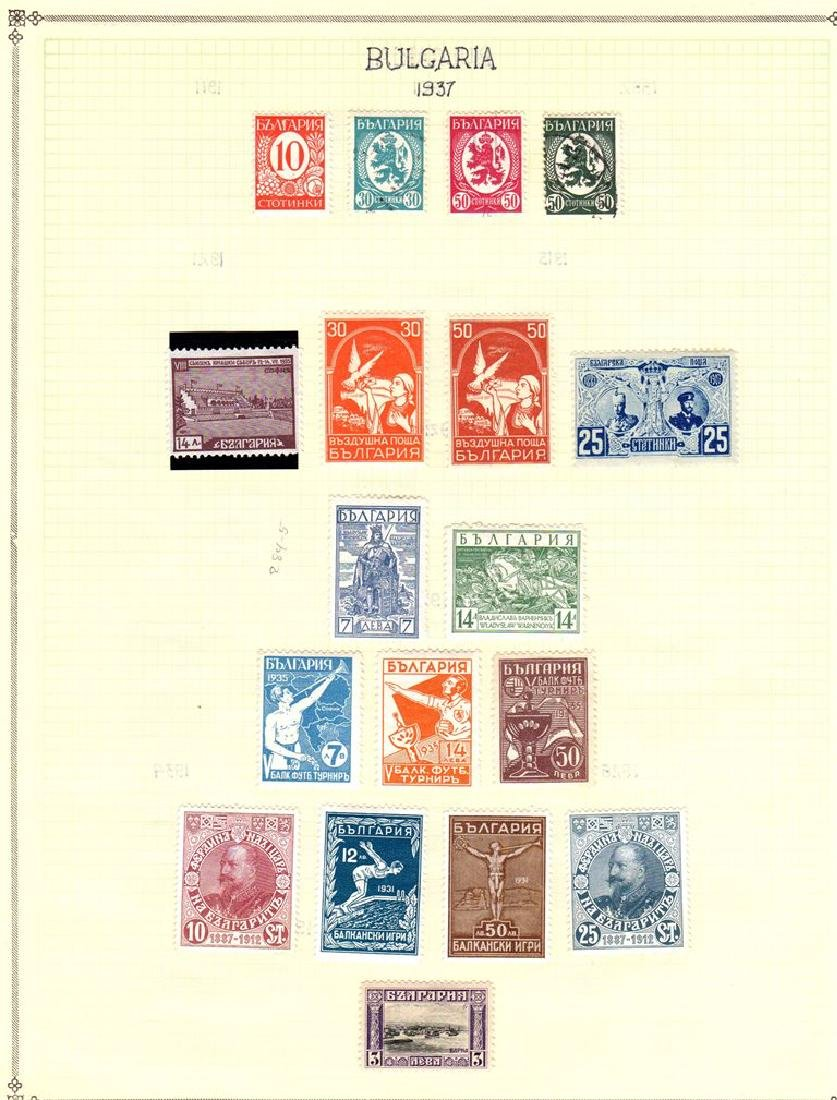Bulgaria Unused Used Stamp Collection to 1940 - 2