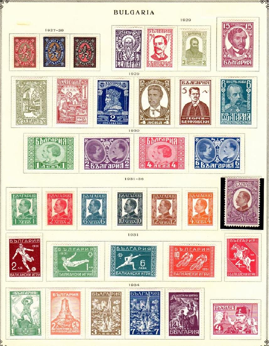 Bulgaria Unused Used Stamp Collection to 1940 - 8