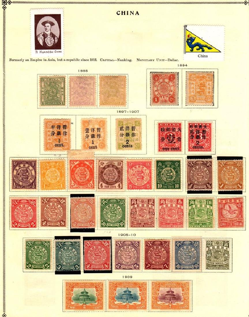 Republic of China Unused Stamp Collection to 1940