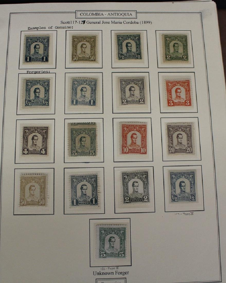 Columbia and Venezuela Forgery Reference Collection