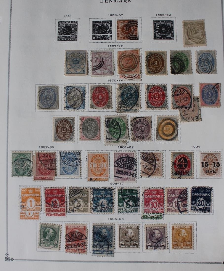 Denmark Unused Used Stamp Collection to 1950