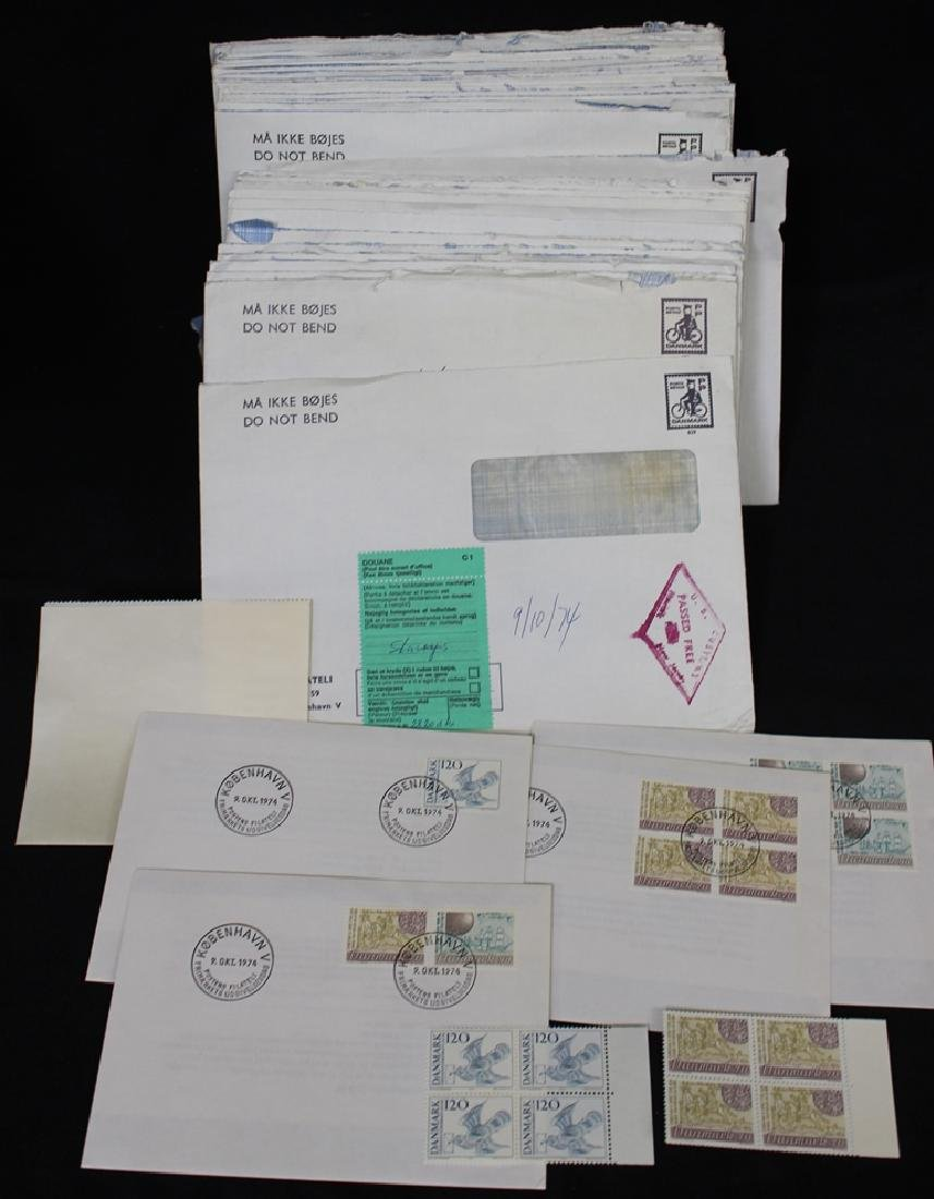 Denmark - 1970'S Era New Issues and FDC's