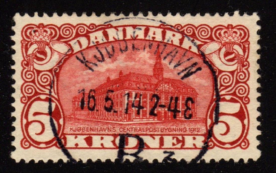 Denmark Scott 82 XF Used Post Office SCV.$200