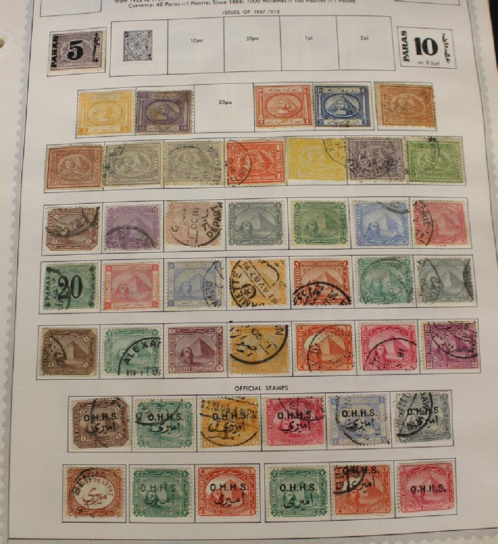 Egypt Unused Used Stamp Collection to 1980