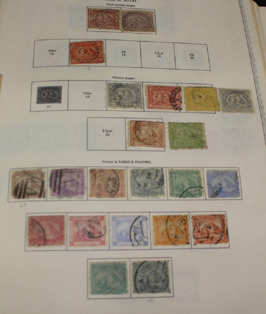 Egypt Unused Used Stamp Collection to 1972