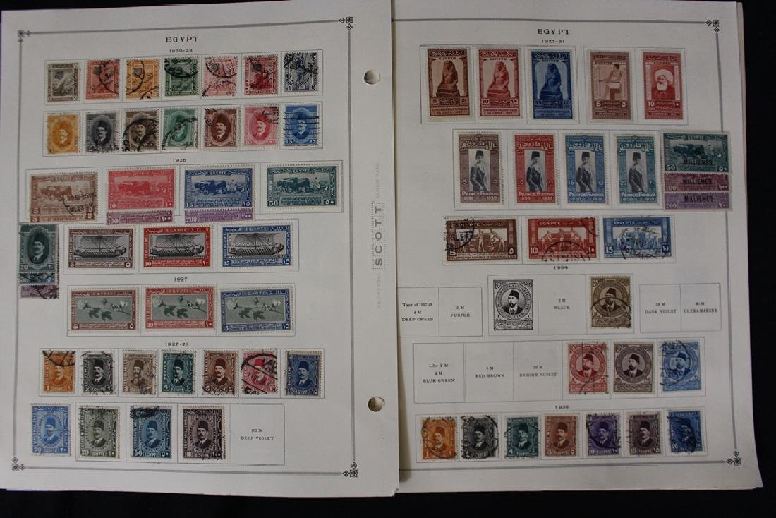 Egypt Unused Used Stamp Collection to 1964