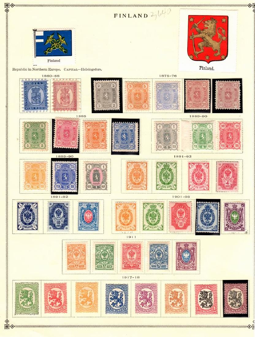 Finland Unused Used Stamp Collection to 1939