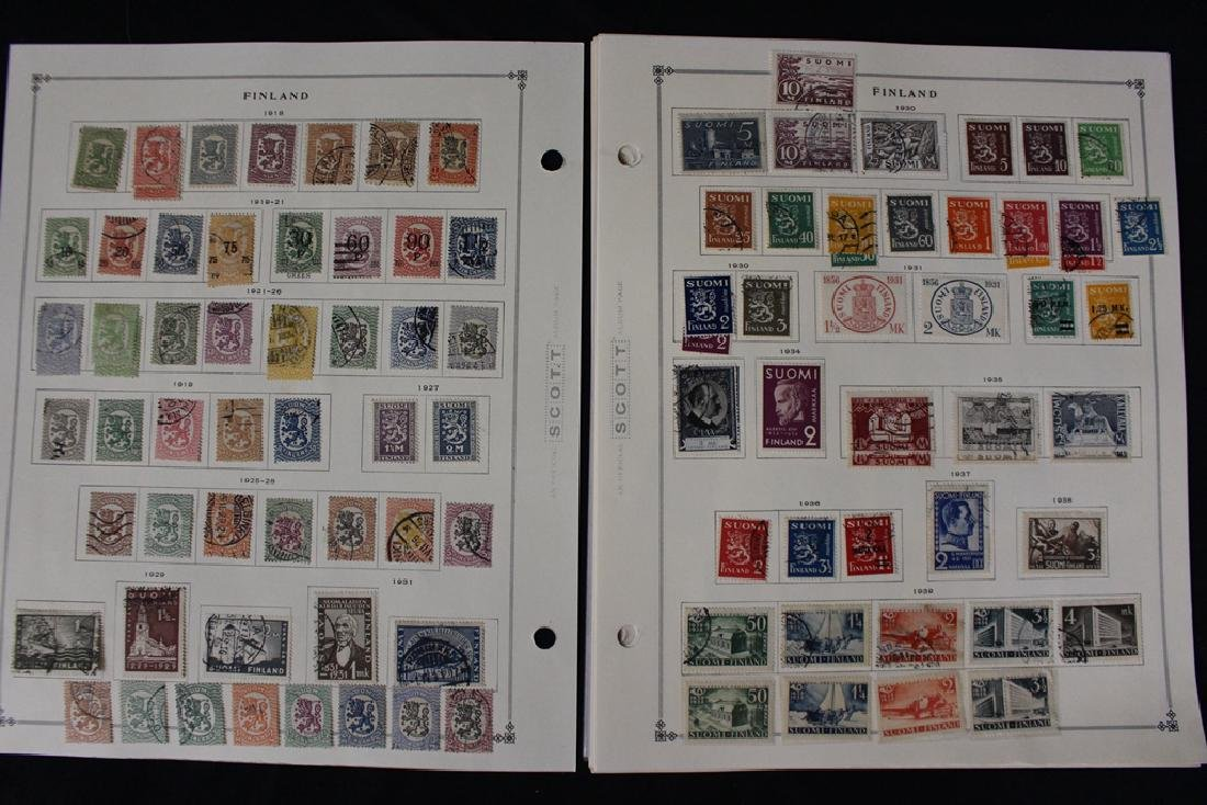 Finland Unused Used Stamp Collection to 1964