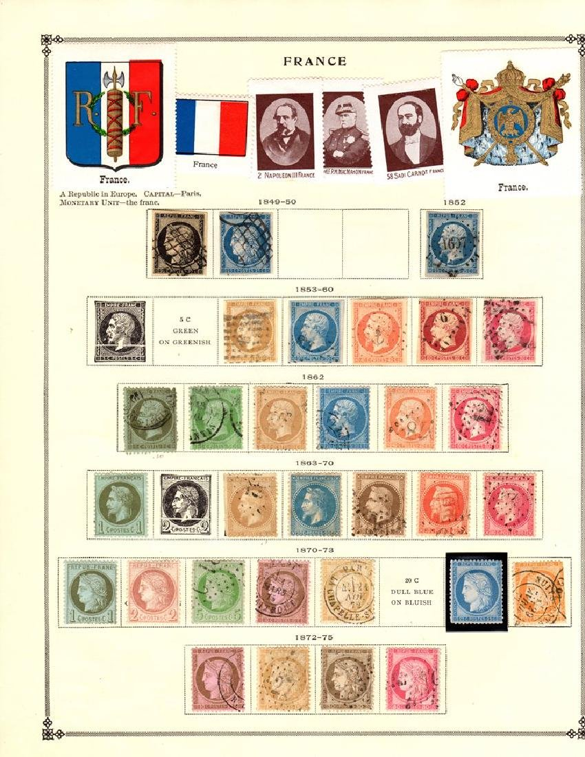 France Unused Used Stamp Collection to 1939