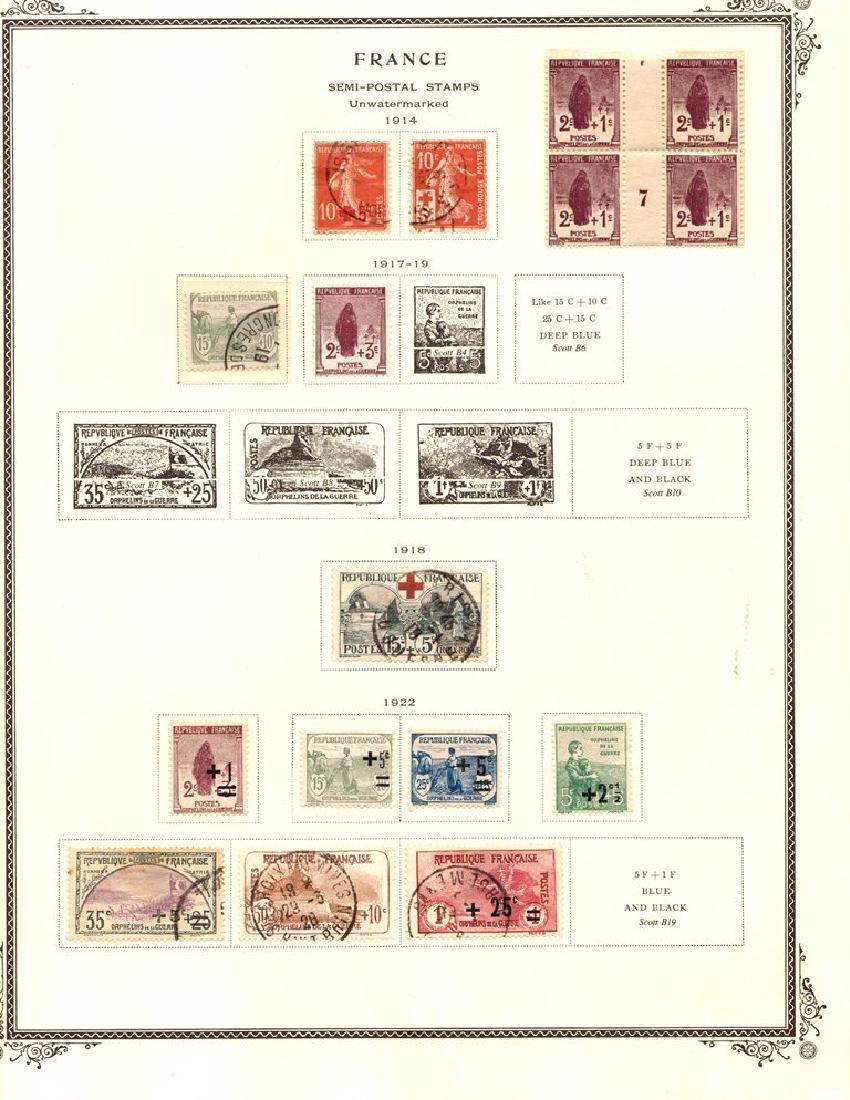 France - Pre-War Unused Used Semi-postal Collection
