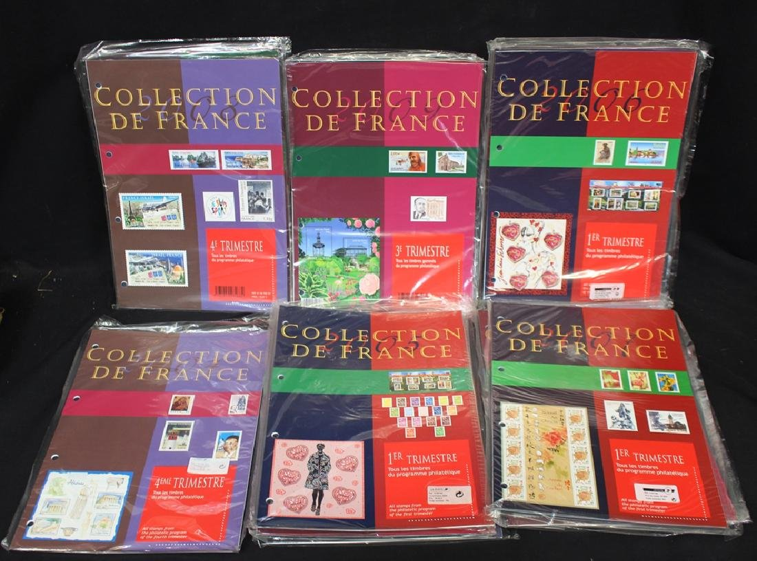 (18) Different France Post Office Packs 2004-2009