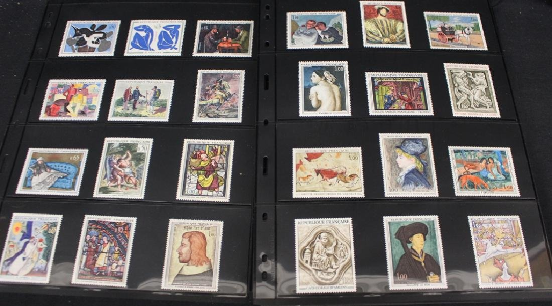 France Unused Used Stamp Collection
