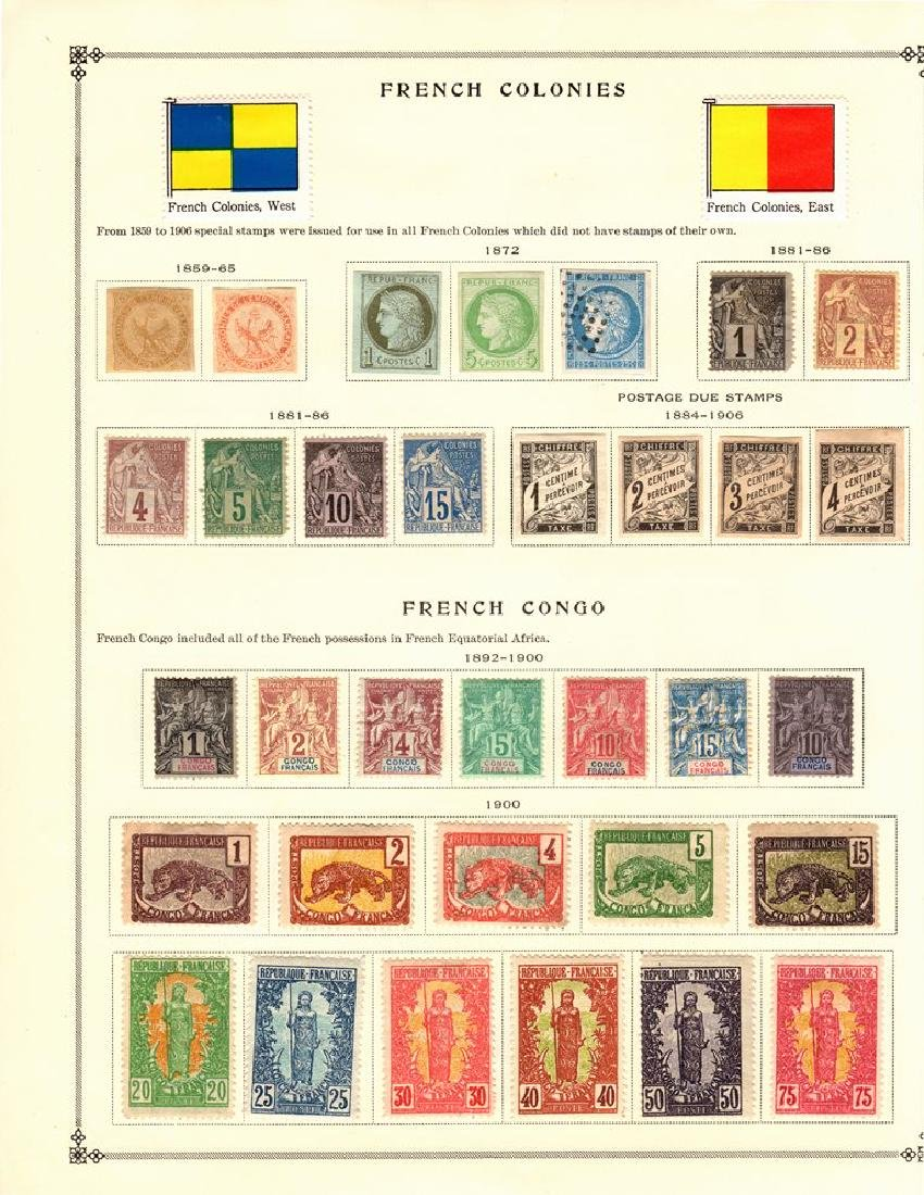 French Colonies Unused Stamp Collection to 1939