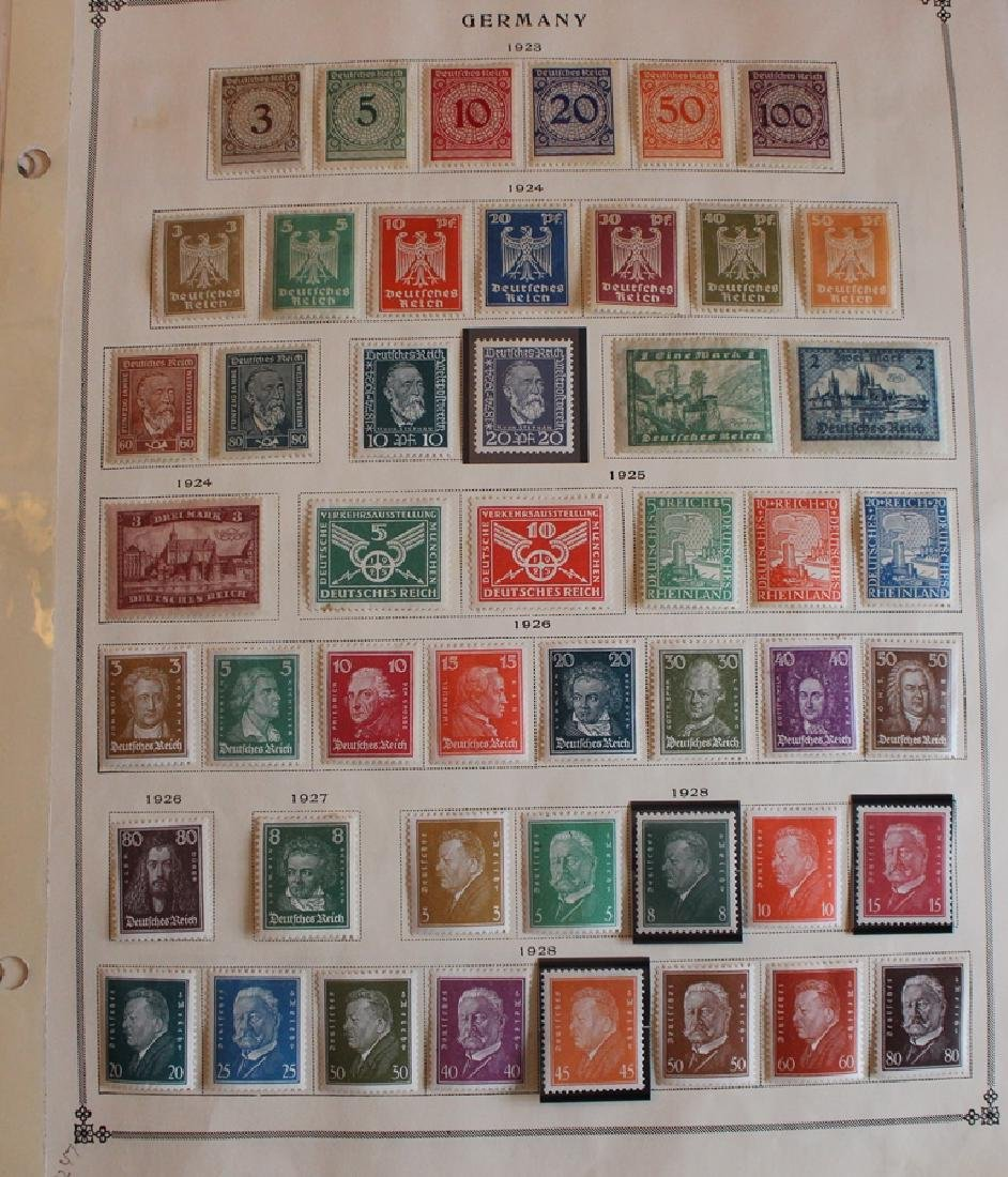 Germany - Unused Used Stamp Collection to 1938