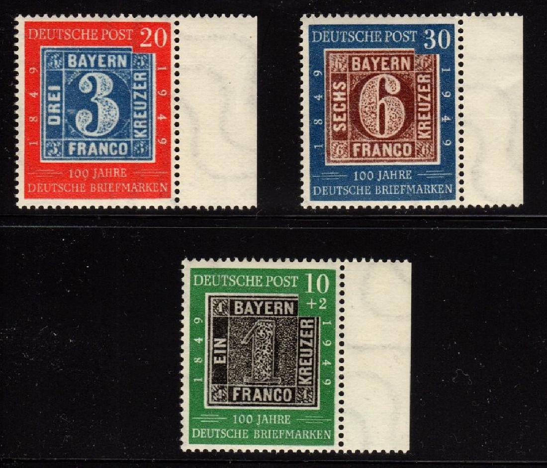 Germany Scott 667-668,B309 VF OG NH fresh SCV.$93