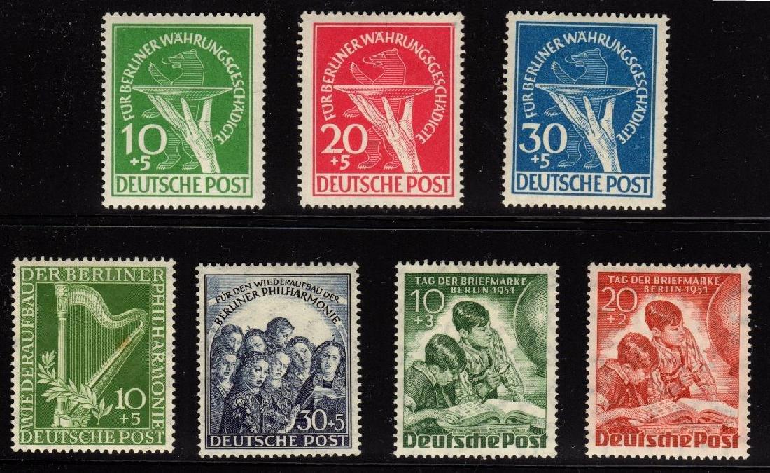 Germany Berlin 9NB1-9NB7 VF OG LH SCV.$143