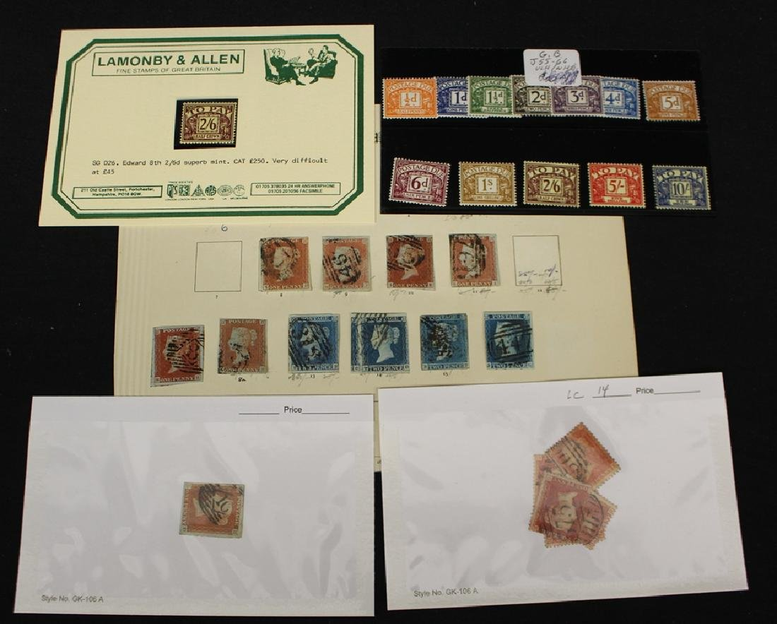 Great Britain Unused Used Stamp Selection