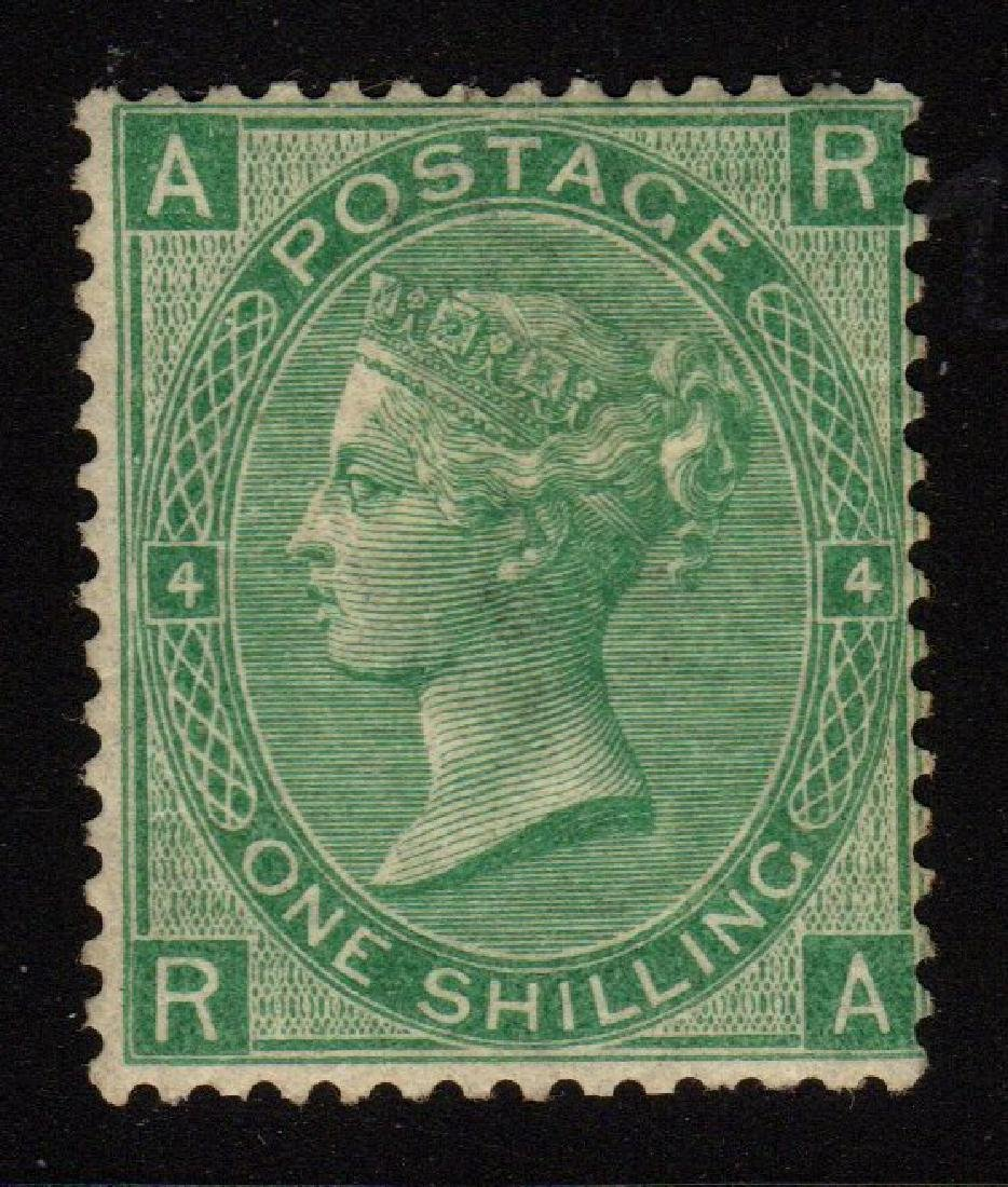 Great Britain Scott 54 Fine OG LH 1sh Queen Victoria