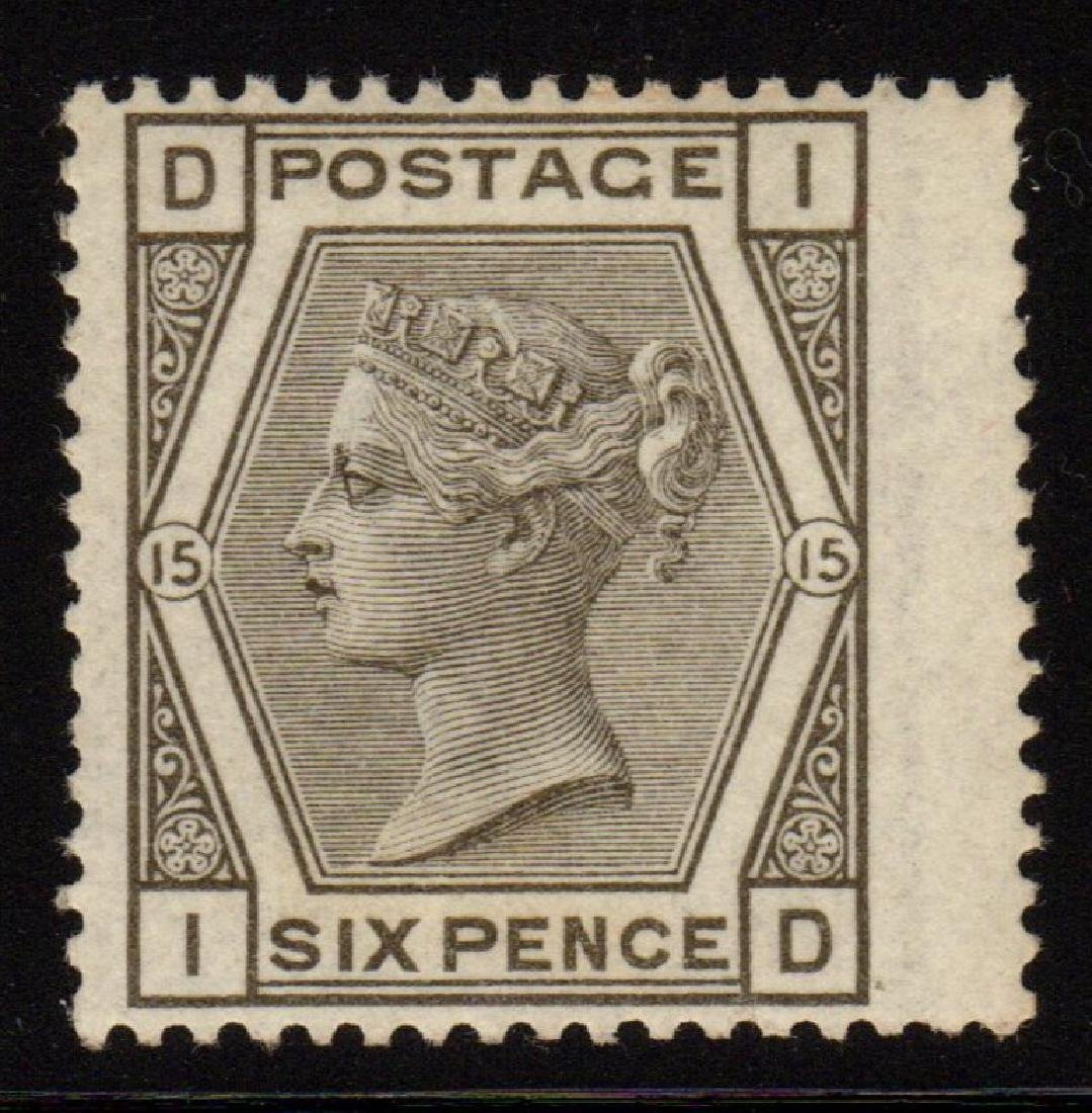Great Britain Scott 62 VF OG LH 6p Queen Victoria