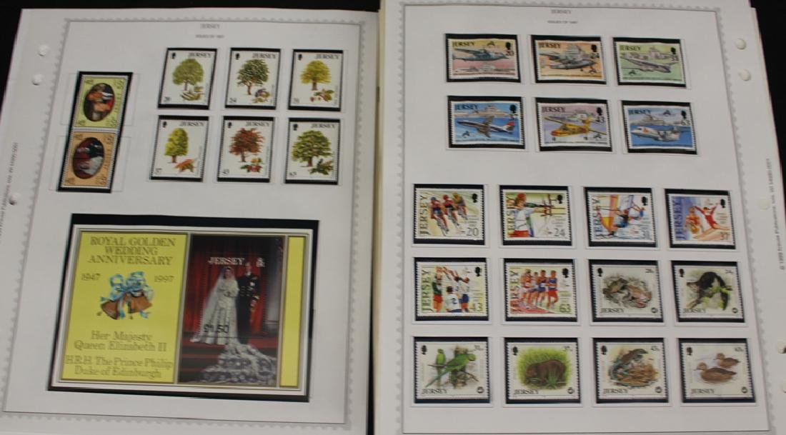 Channel Islands Unused Stamp Collection 1970-1999
