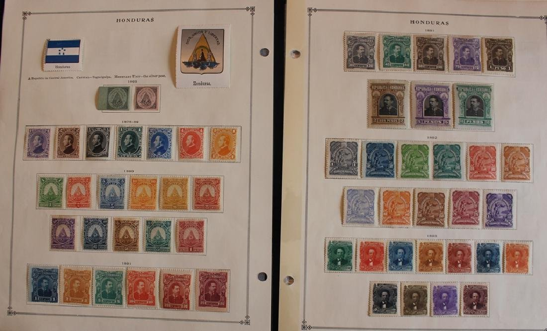 Honduras Unused Stamp Collection to 1939