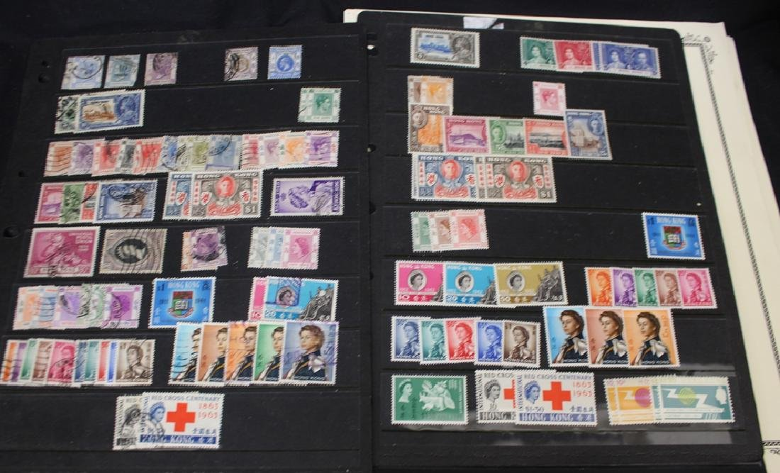 Hong Kong Unused Used Stamp Collection