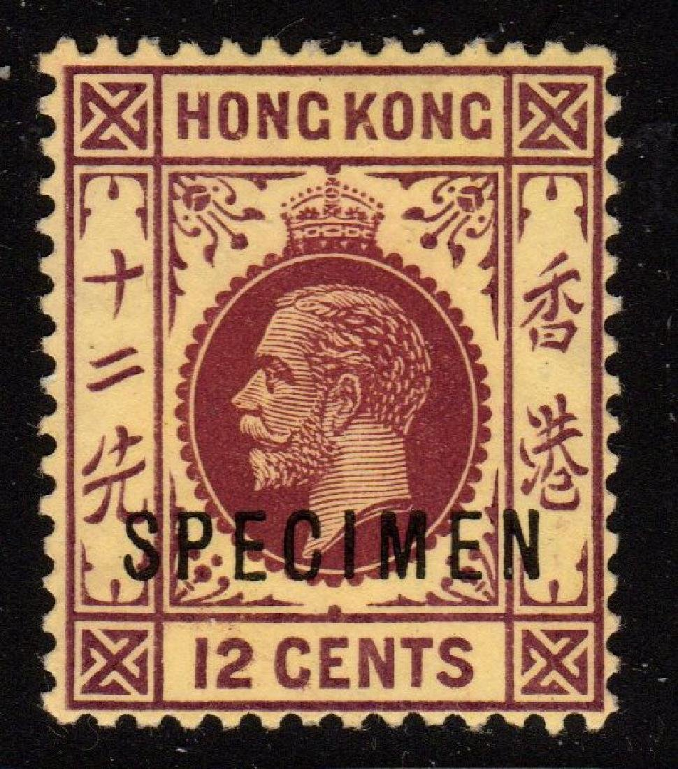Hong Kong Gibbons 106a SPECIMEN overprint issue
