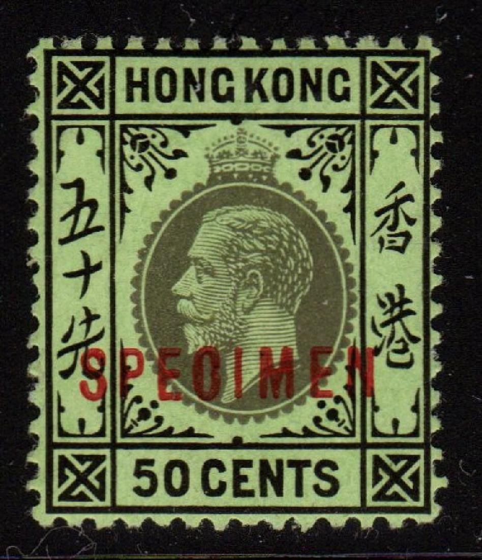 Hong Kong 111dS Fine Unused SPECIMEN overprint