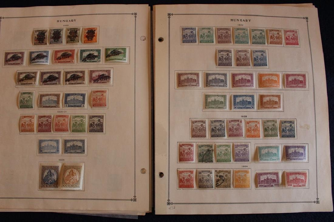 Hungary Unused Stamp Collection to 1938 SCV.$1400+