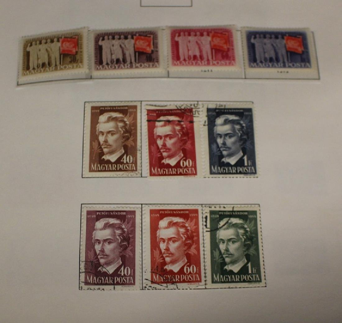 Hungary - Unused Used Stamp Collection to 1974