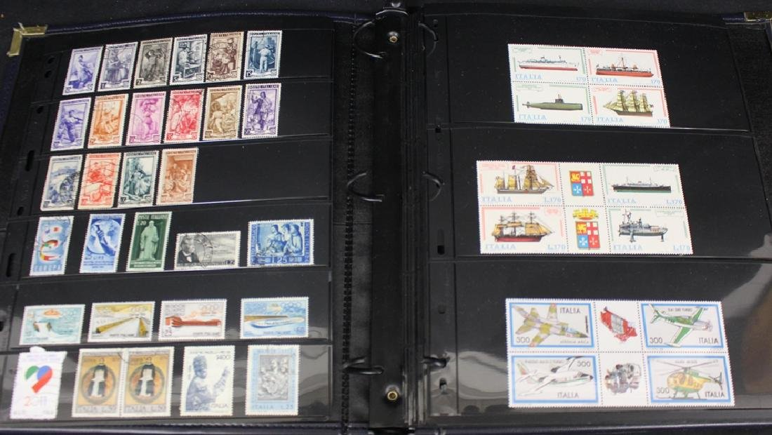 Italy and Trieste Unused Used Stamp Collection