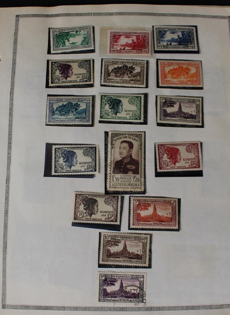 Laos Unused Used Stamp Collection to 1990