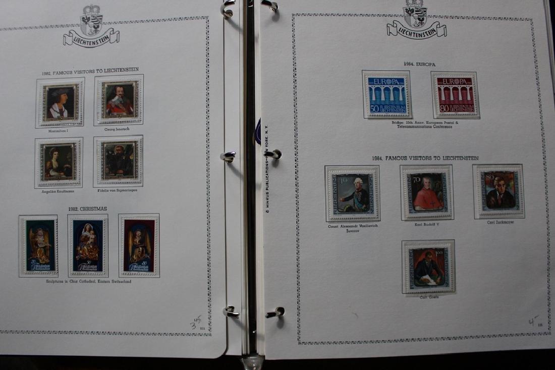 Liechtenstein Unused Used Stamp Collection 1937-2000